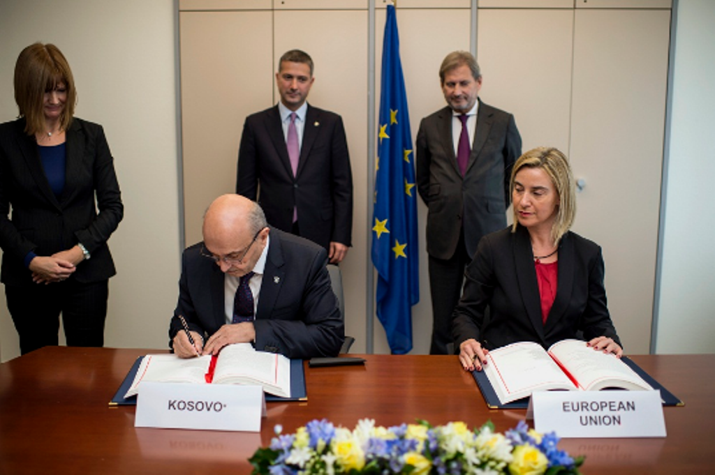 EU doesn't lift demarcation deal as a condition for accession