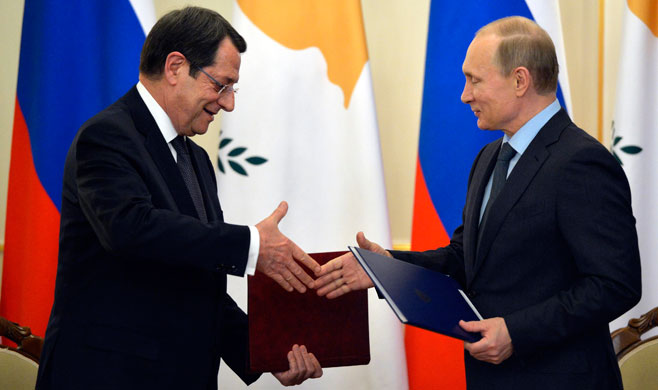 Cyprus to facilitate Russian business initiatives, President assures
