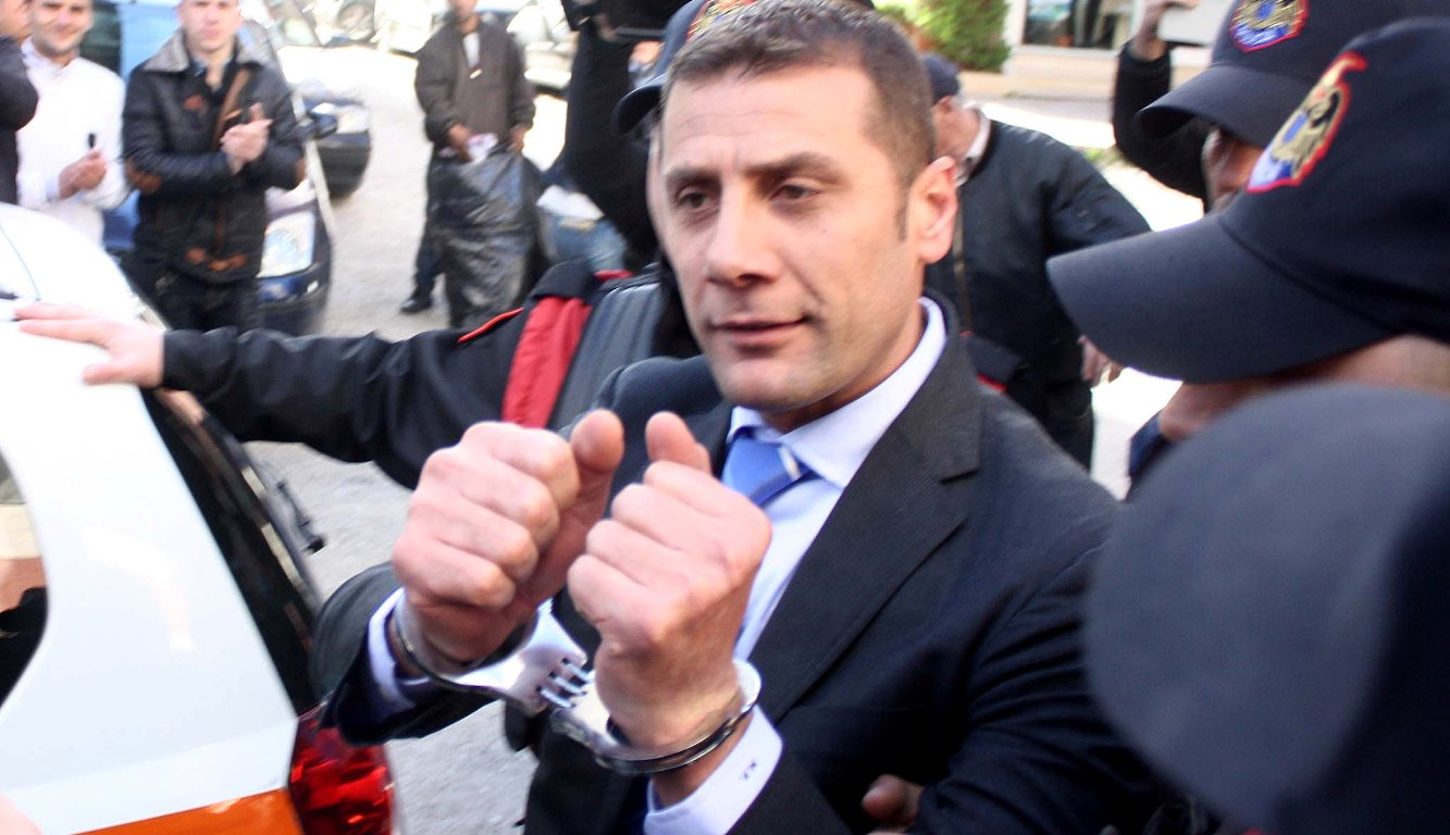 Former MP of the left wing coalition, Mark Frroku is acquitted on the charge of murder
