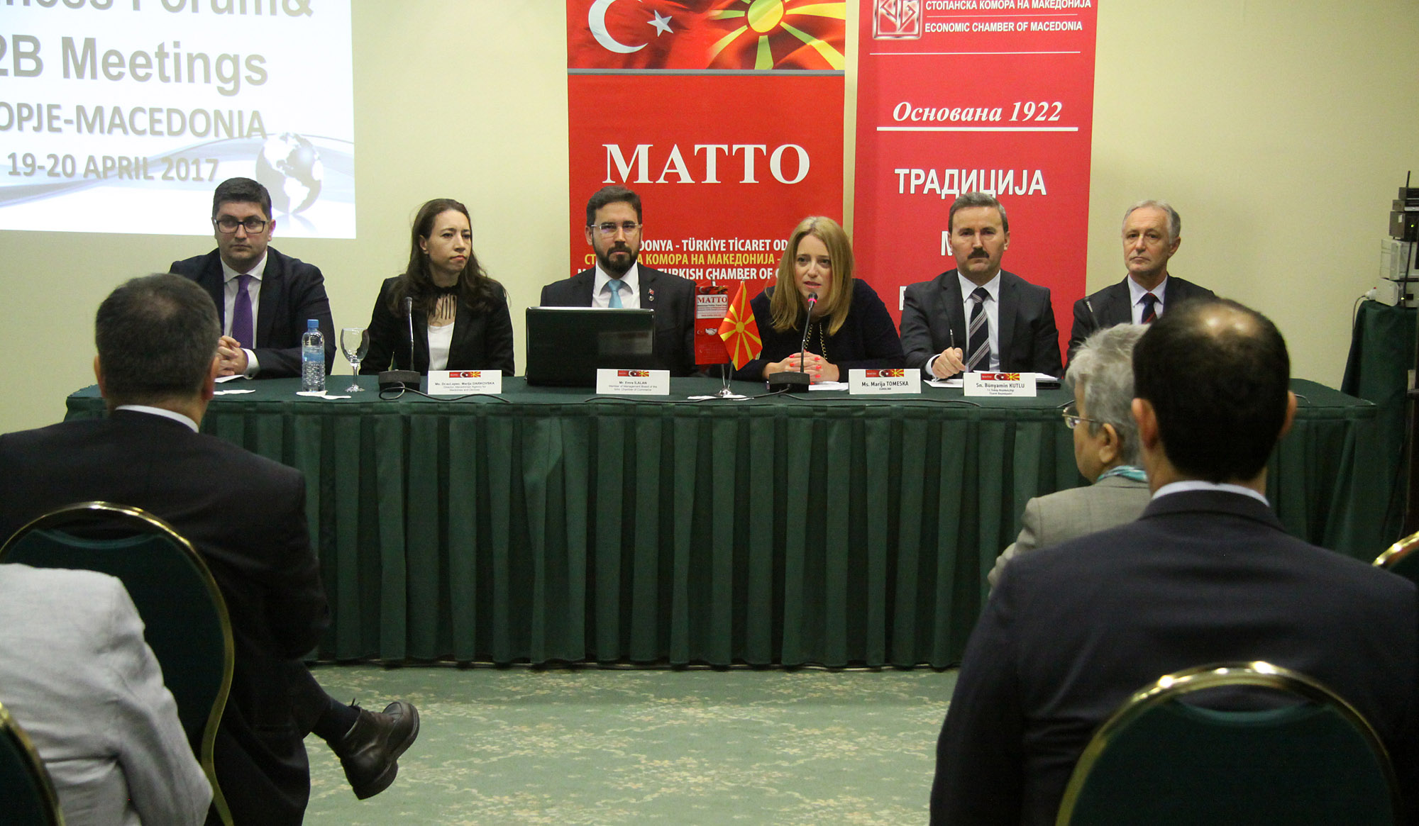 Macedonian-Turkish businesses on the crisis in FYROM and after the referendum in Turkey