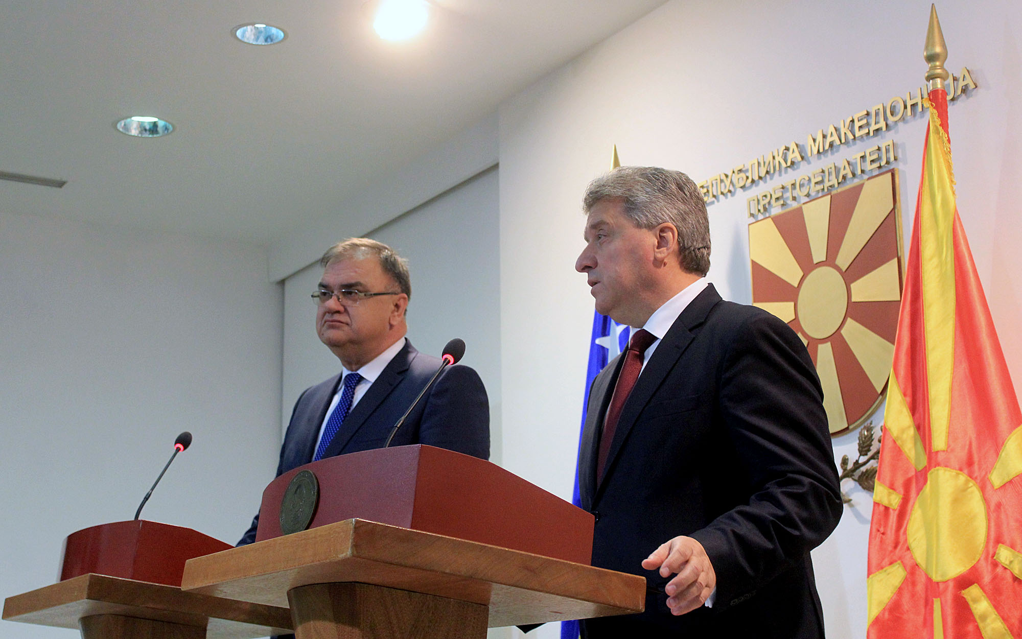 USA and EU send strong messages about the crisis in FYROM