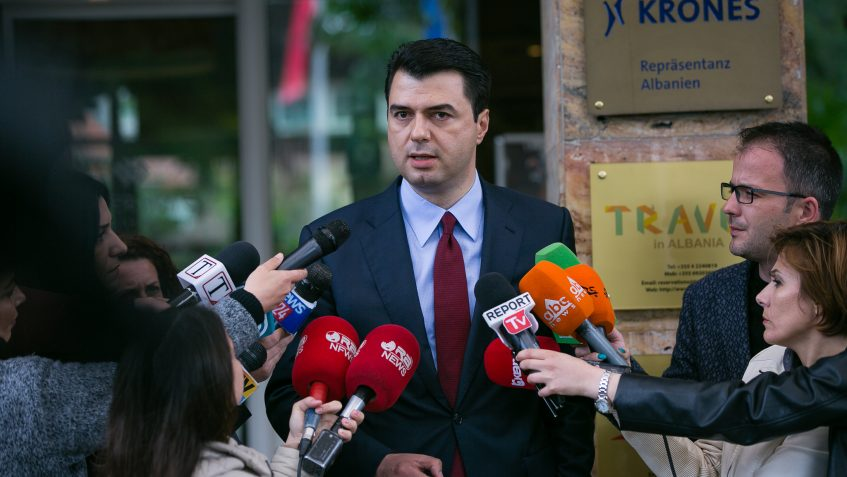 The Albanian opposition doesn't budge from its request for a technocrat government
