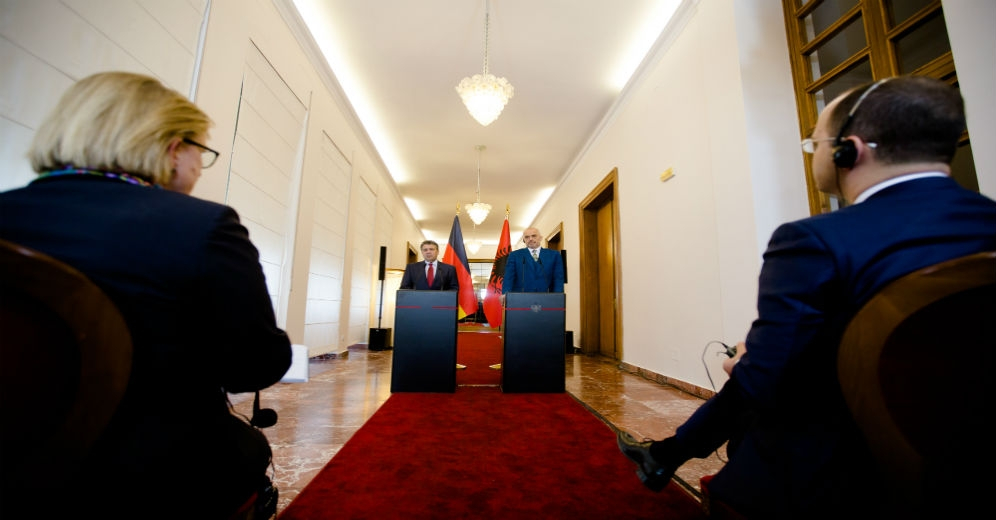 German government slams the Albanian opposition's actions