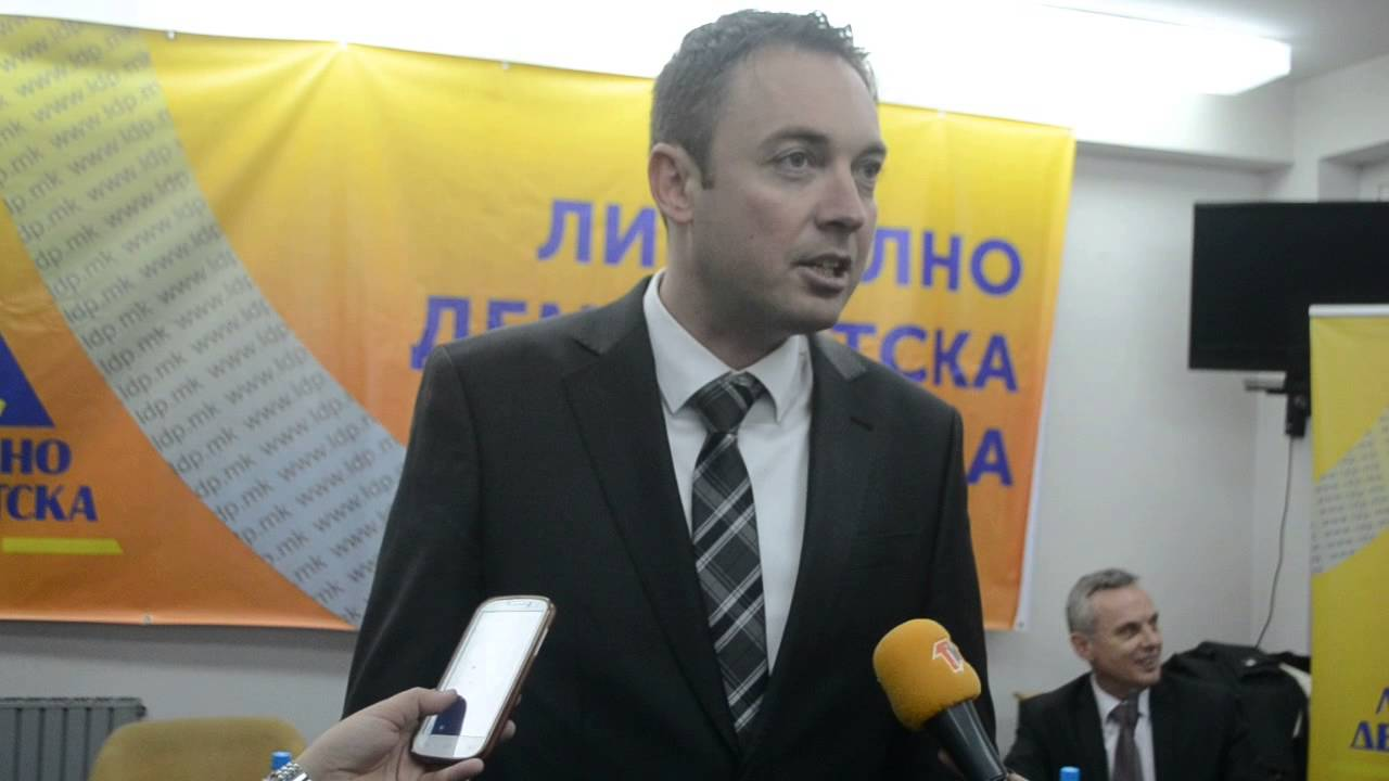 Exclusive interview with the leader of the Liberal Democratic Party, Goran Milevski