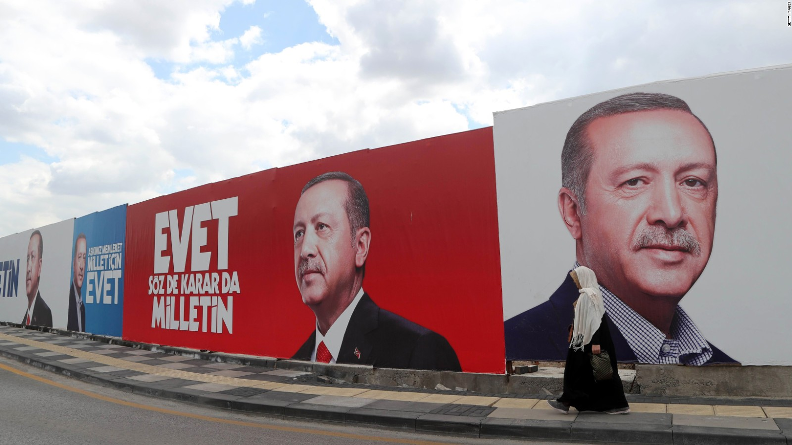 Erdogan's camp is trying to analyze the result of the Referendum