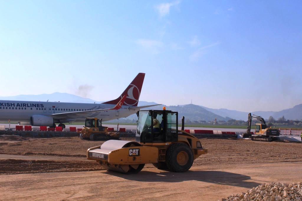 Reconstruction of Sarajevo Airport has begun