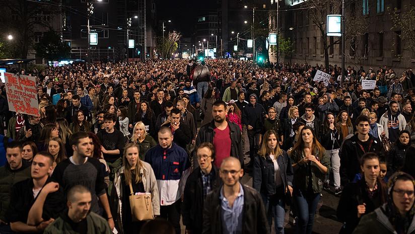 Protests in Serbia legitimate for the EU