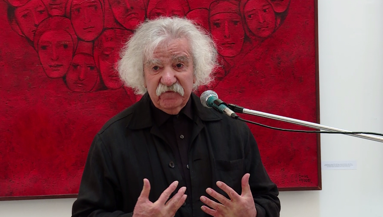 Painter Omer Kaleshi opens an exhibition Skopje