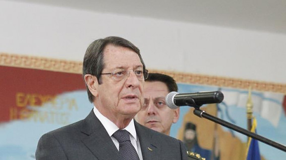 Cyprus cannot be reunified through threats and blackmail, President says