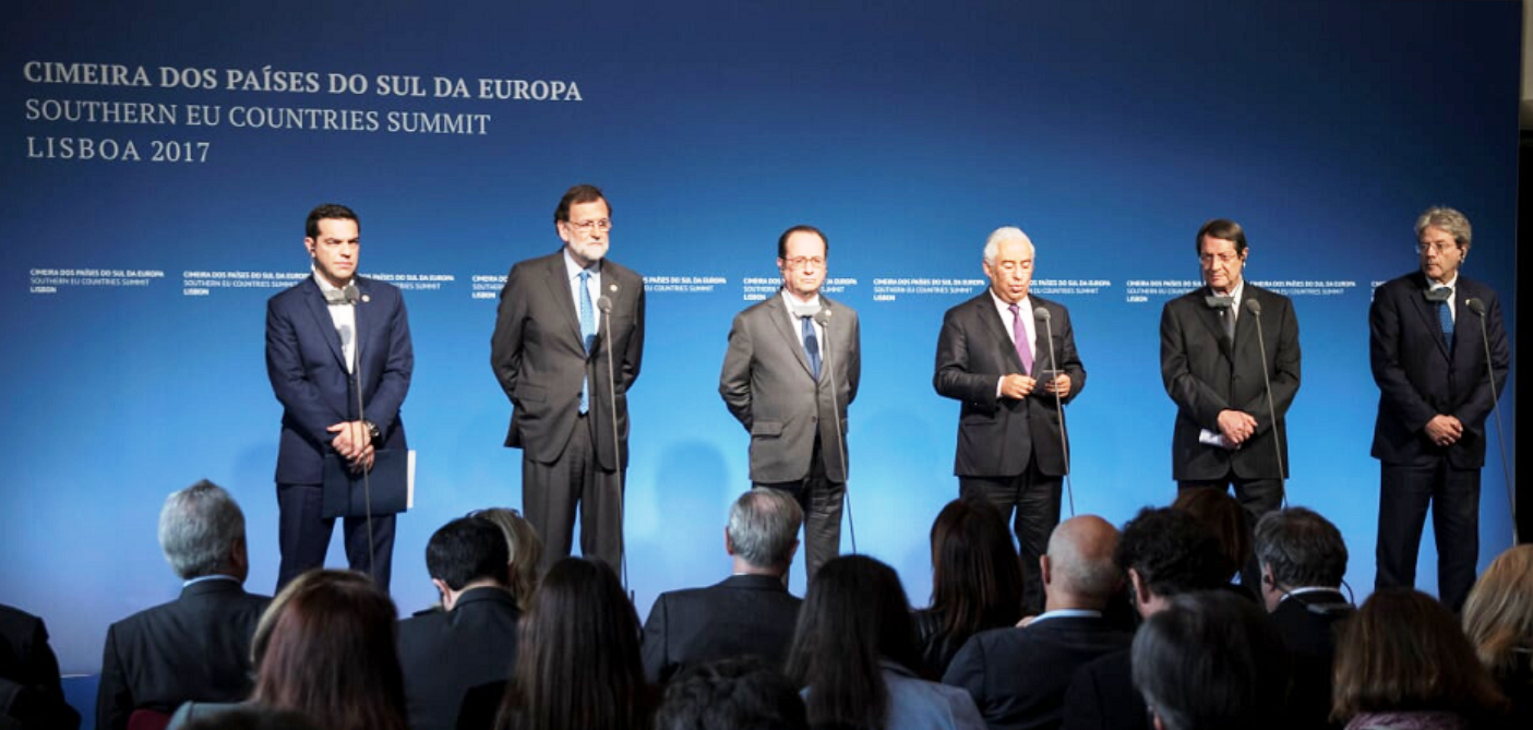 Tsipras at 3rd Summit of the South in Madrid