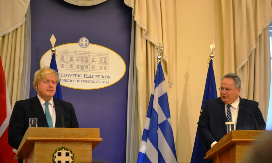 Kotzias: Greek-British relations are historic and with great future