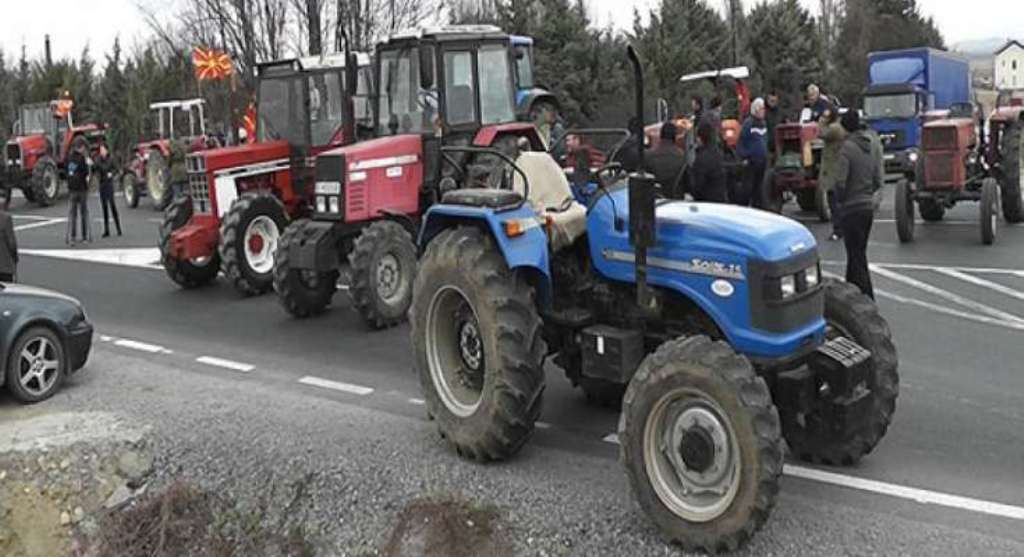 Farmers are threatening to block Skopje if subsidies are not paid