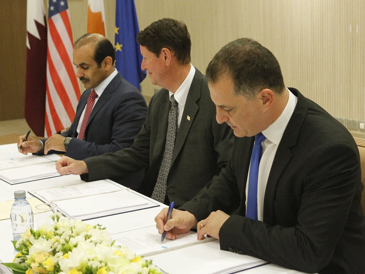 Cyprus government signs contract for Block 10 with ExxonMobil and Qatar Petroleum