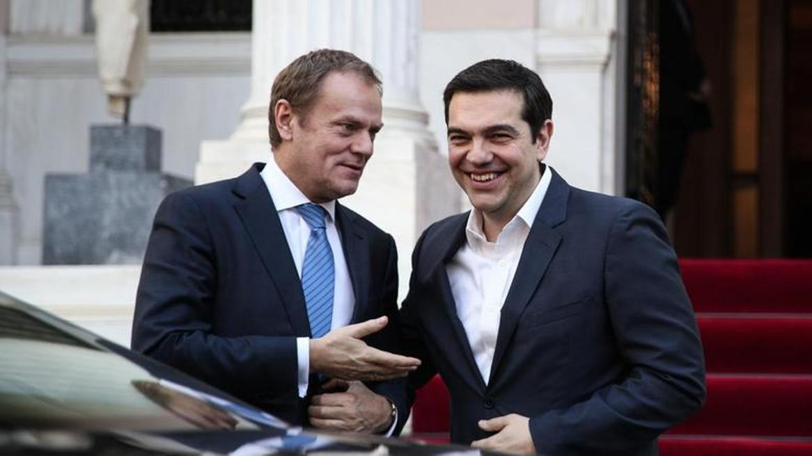 Tusk – Tsipras to discuss the Refugee crisis, the Economy and the Future of the EU