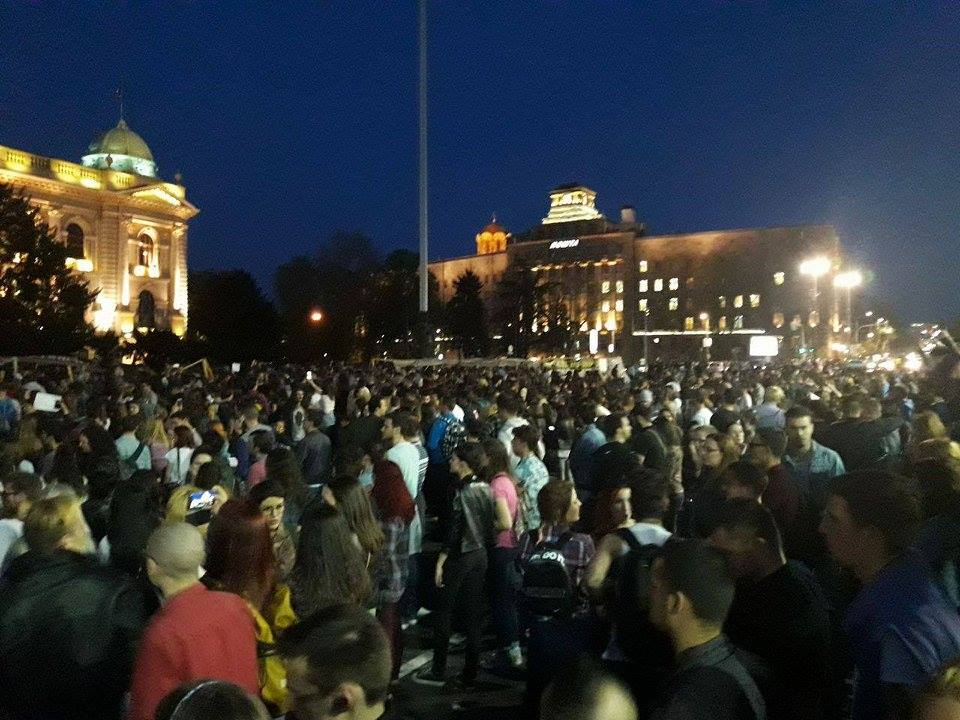Peaceful protests are acceptable, Vucic says