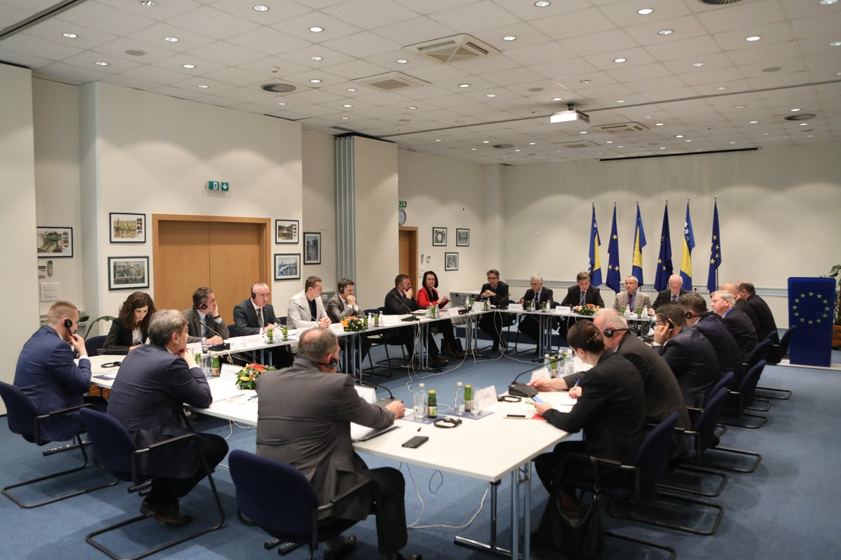 EU Mission discussed issues on terrorism in BiH