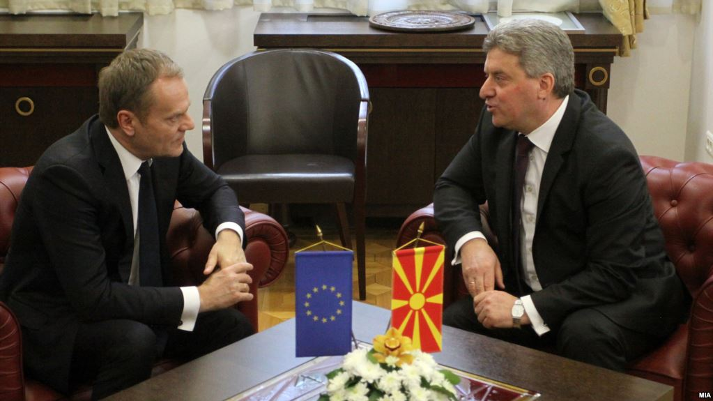 Head of EU to visit Skopje amid an ongoing political crisis