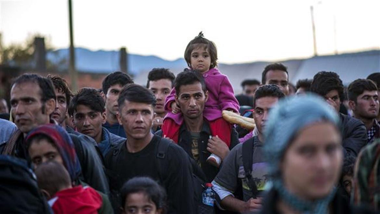 Refugees abandoning Albania