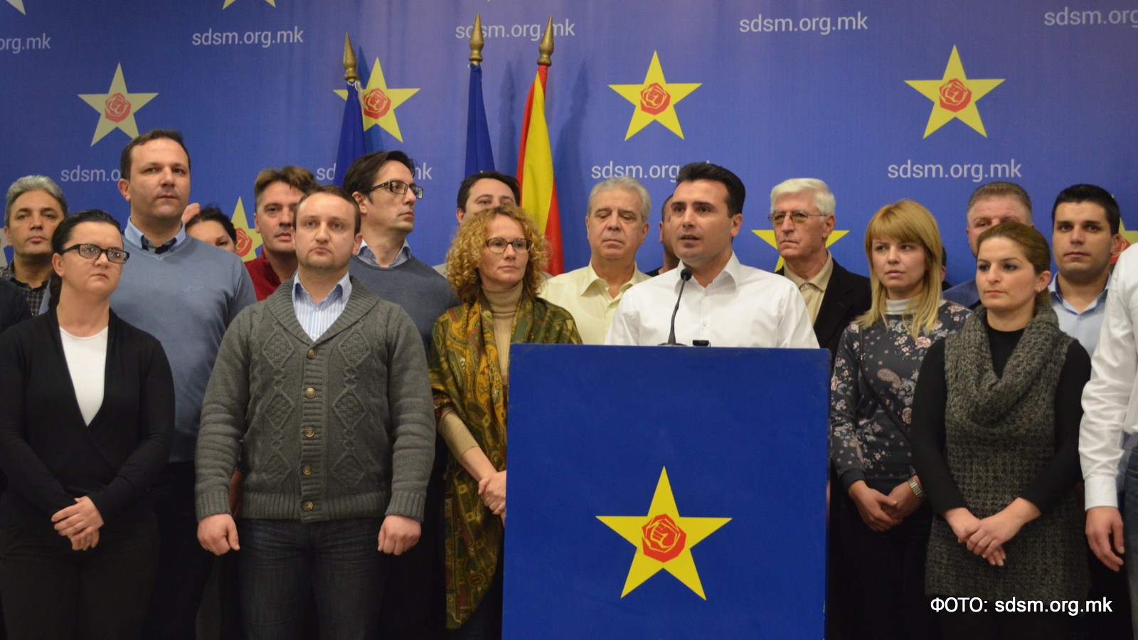 SDSM waiting for Zaev to return from vacation and decide