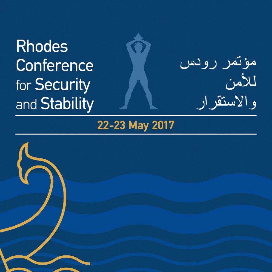 The security architecture in the East Mediterranean at the heart of the Rhodes Conference (22-23 May)
