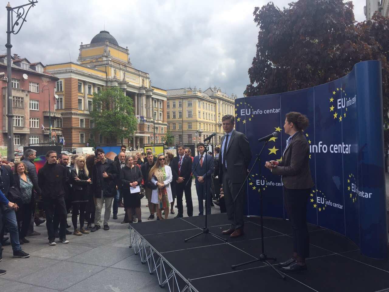 BiH celebrates Europe Day