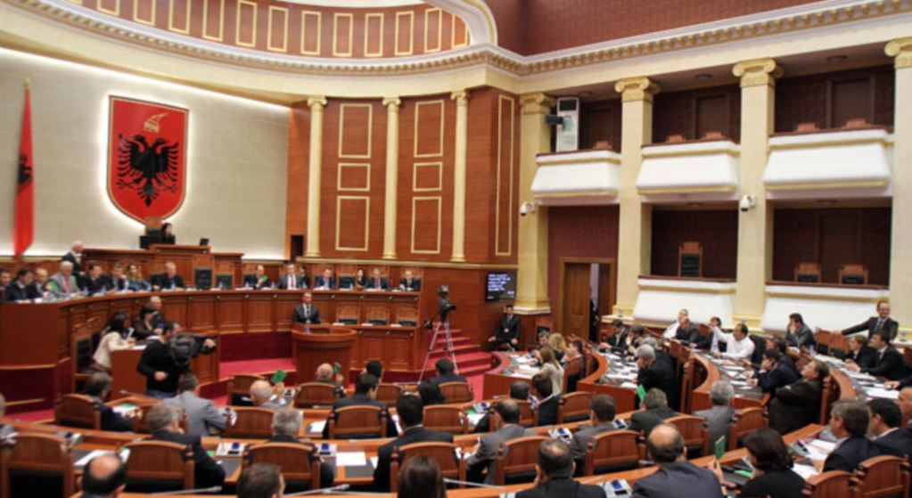 Parliament in Albania debates over the UN vote on Jerusalem