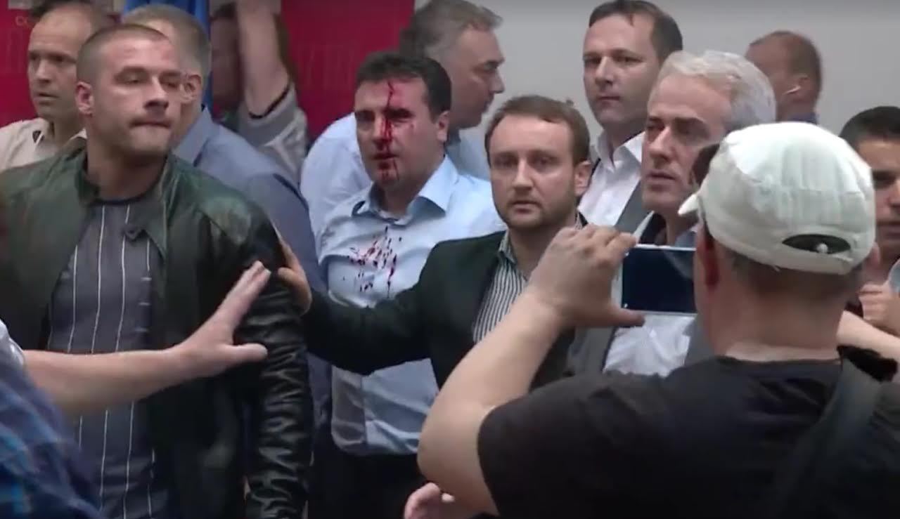 A part of the people accused for the events of April 27 in parliament arrested again