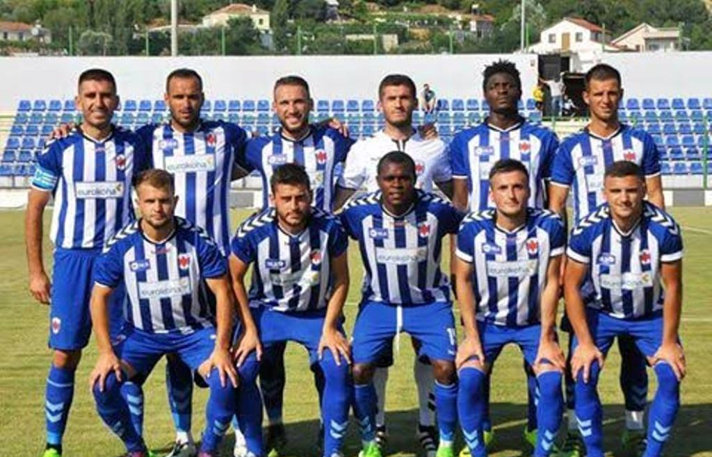 Pristina loses its first Europa League fixture