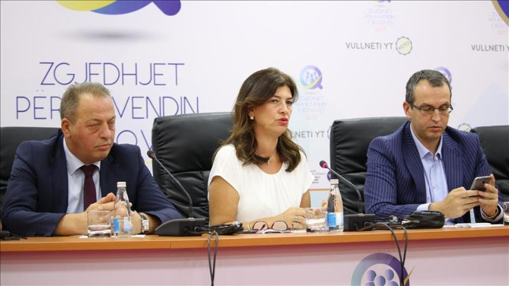 Official election result announced in Kosovo
