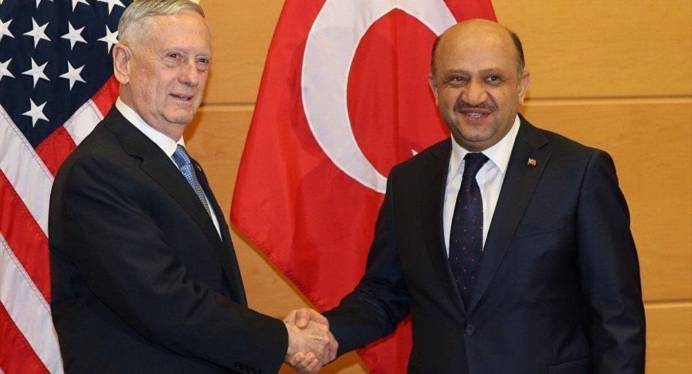 Mattis – Isik discuss Northern Syria