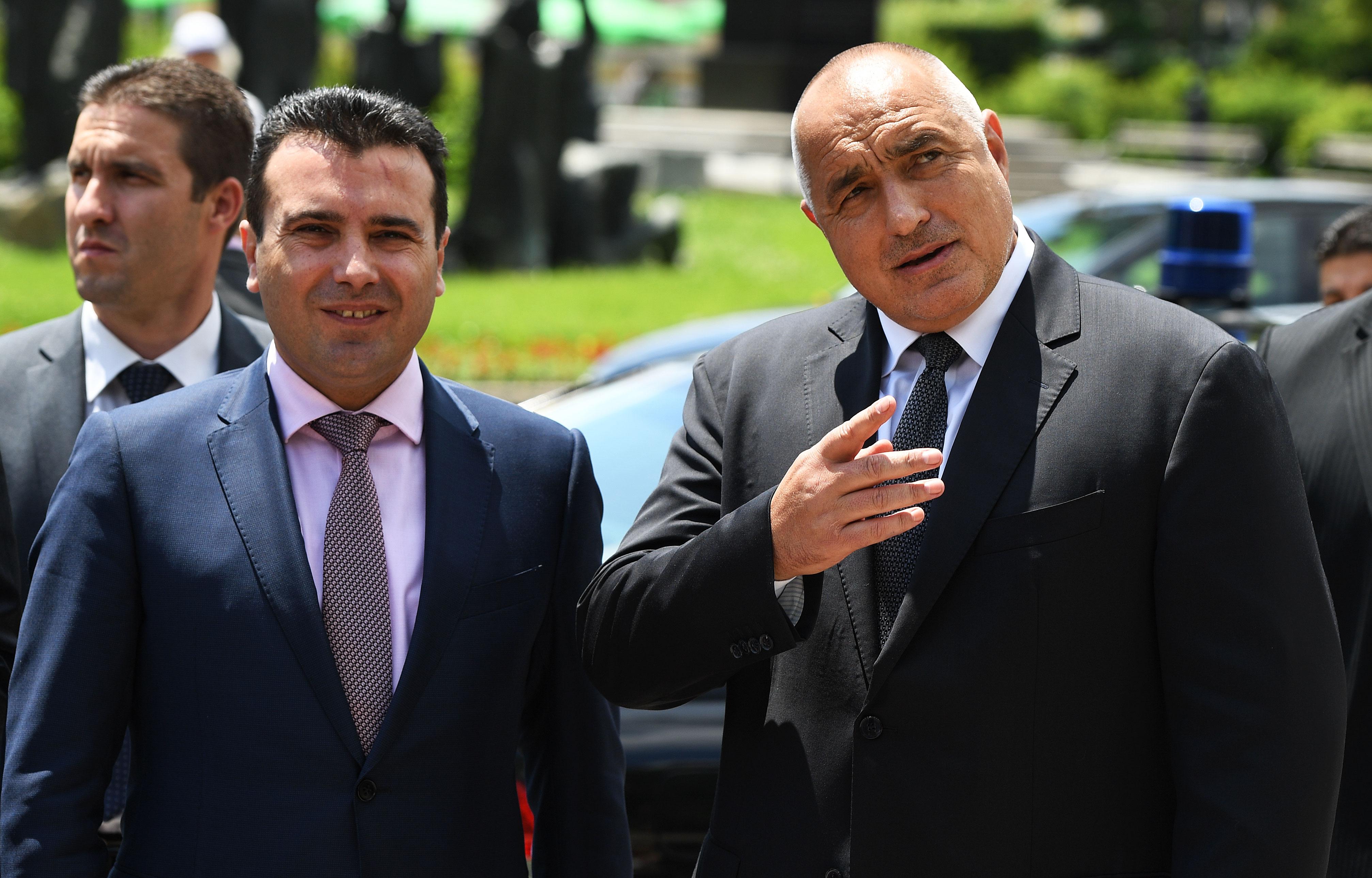 Zaev's visit to Sofia, political clashes in Skopje