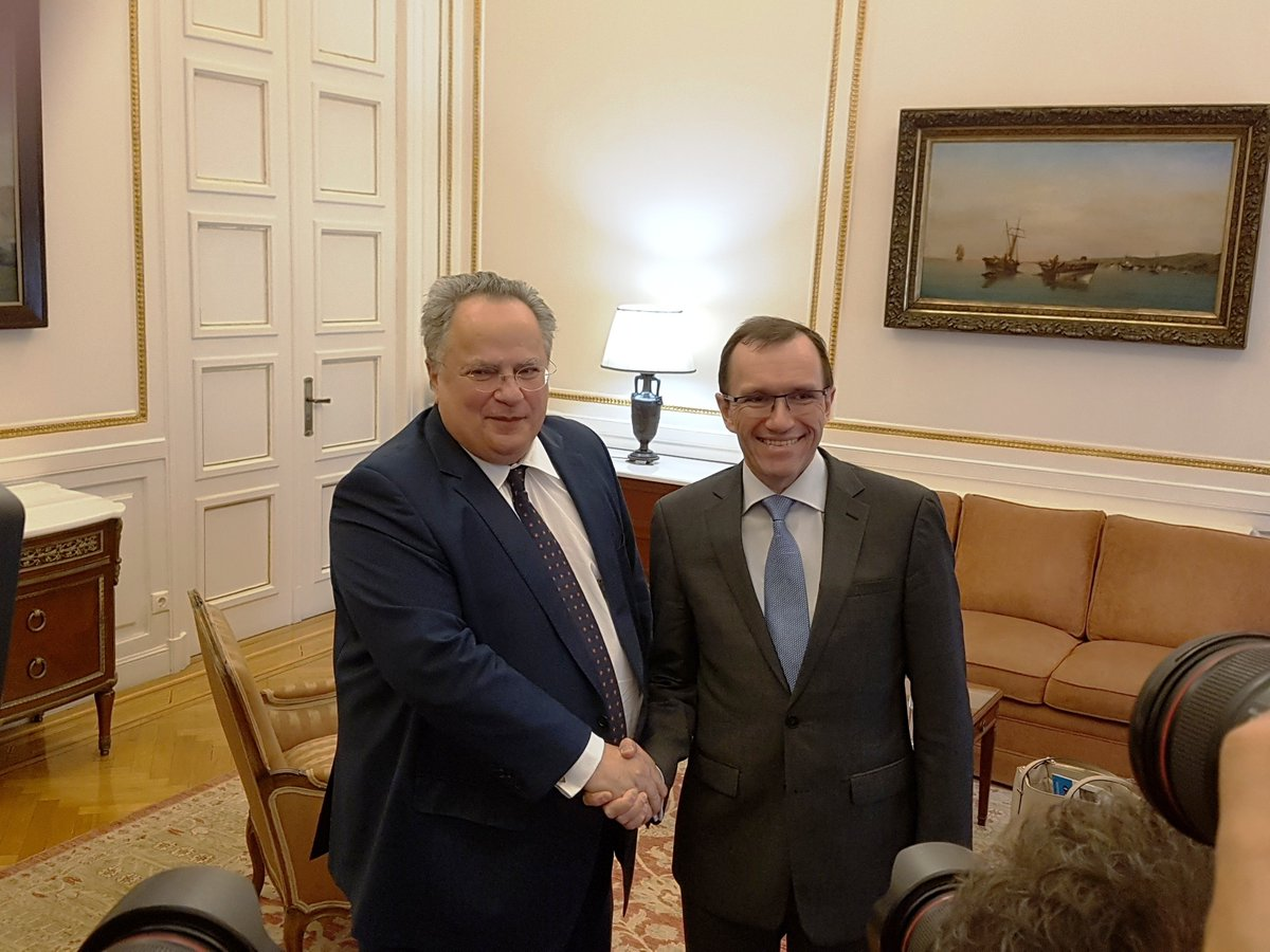 Eide completes round of talks; paper for conference to be submitted tomorrow