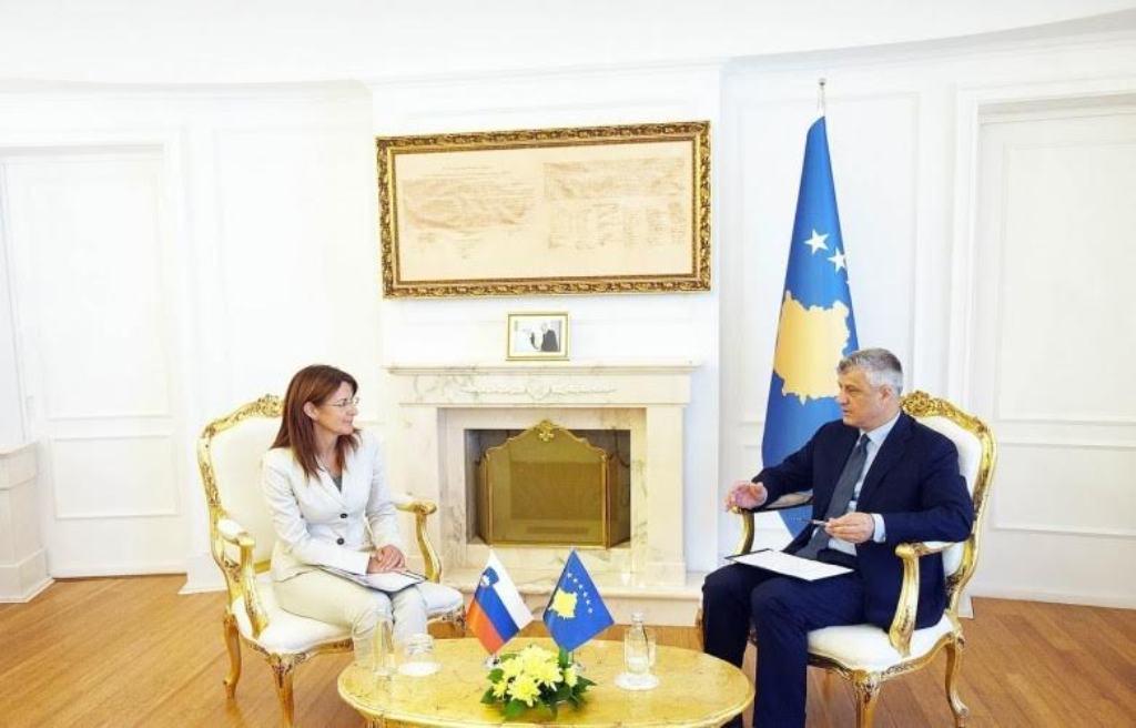 Kosovo's President Thaci: The army will meet NATO's standards