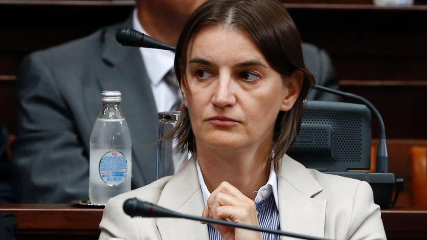 Ana Brnabic the new Serbian prime minister