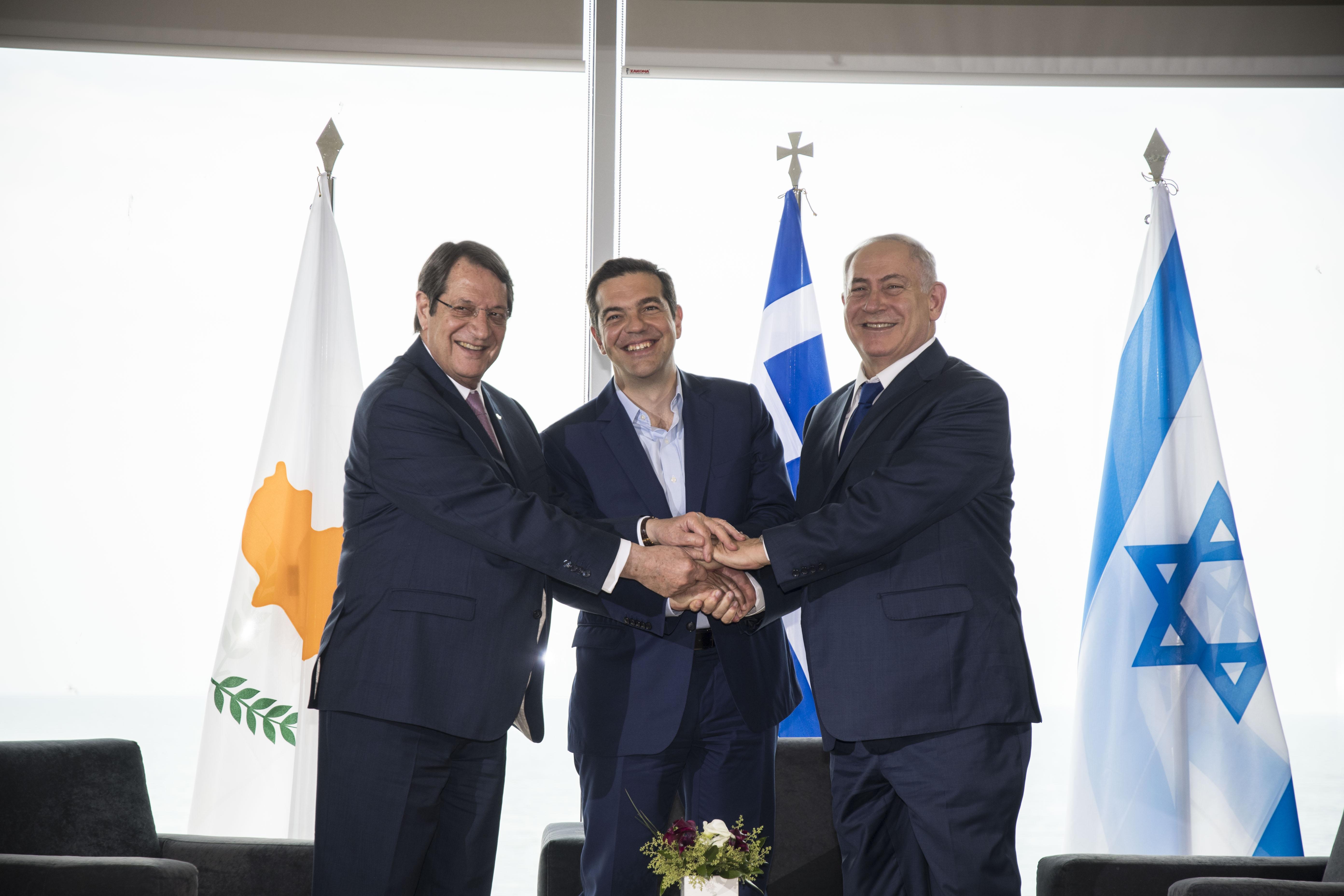 Joint Declaration Greece-Cyprus-Israel Trilateral Summit, Thessaloniki 15.06.2017