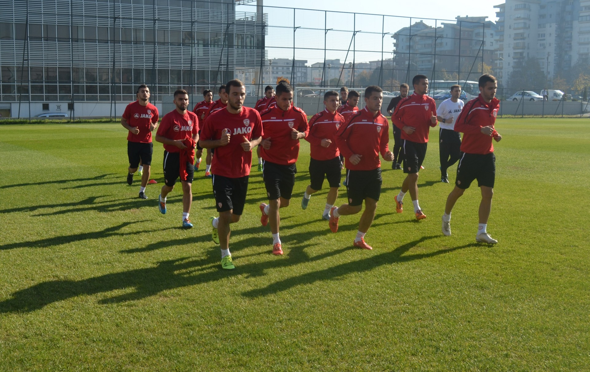 FYROM's U-21 is getting ready to face Spain