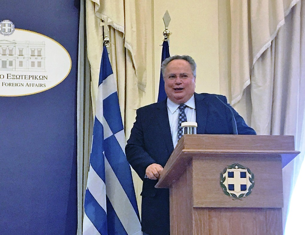 """Kotzias: """"No one would be happier than me if we solve the Cyprus issue"""""""