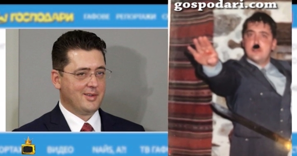 Bulgarian presidential aide refuses to resign over photos of him dressed as Hitler