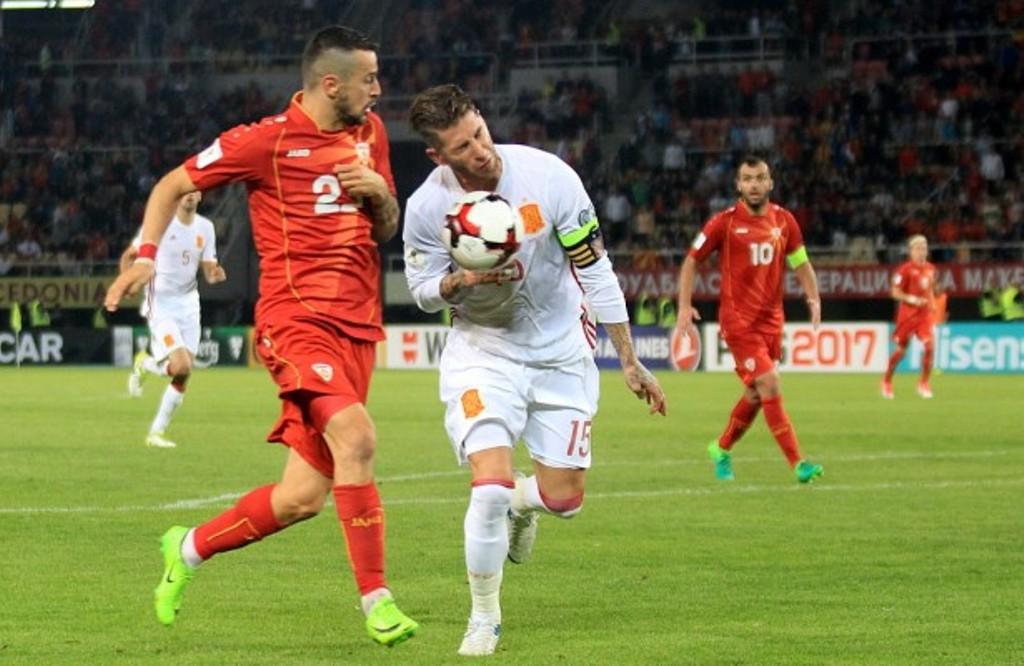 FYROM defeated by Spain in Skopje