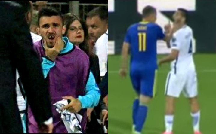 The night that football died, Bih – Greece football game ends in brawl