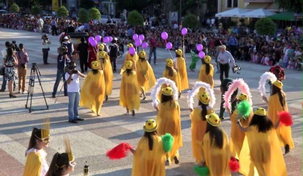 International Carnival Festival in Korca