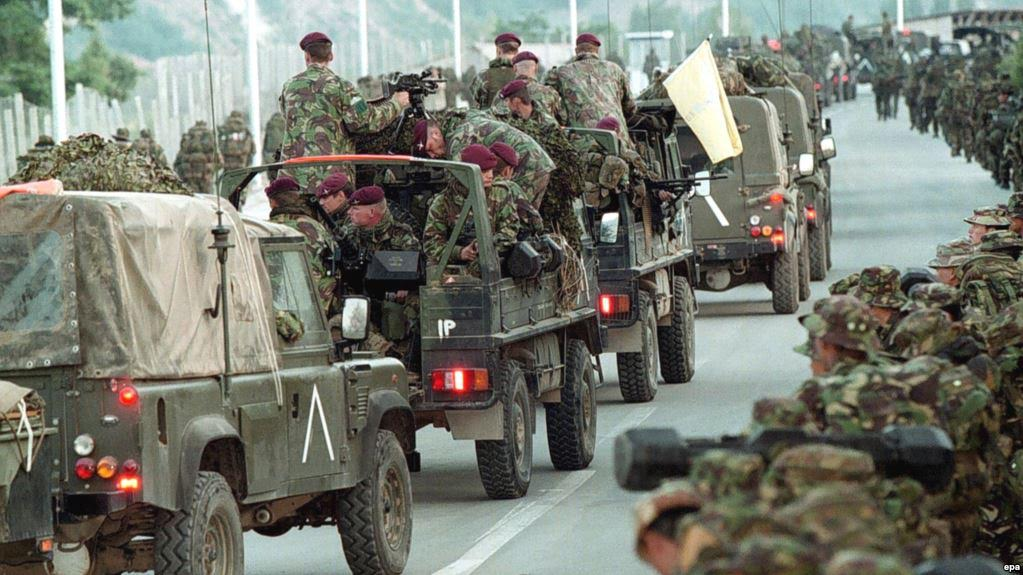 18 years from NATO's campaign in Kosovo