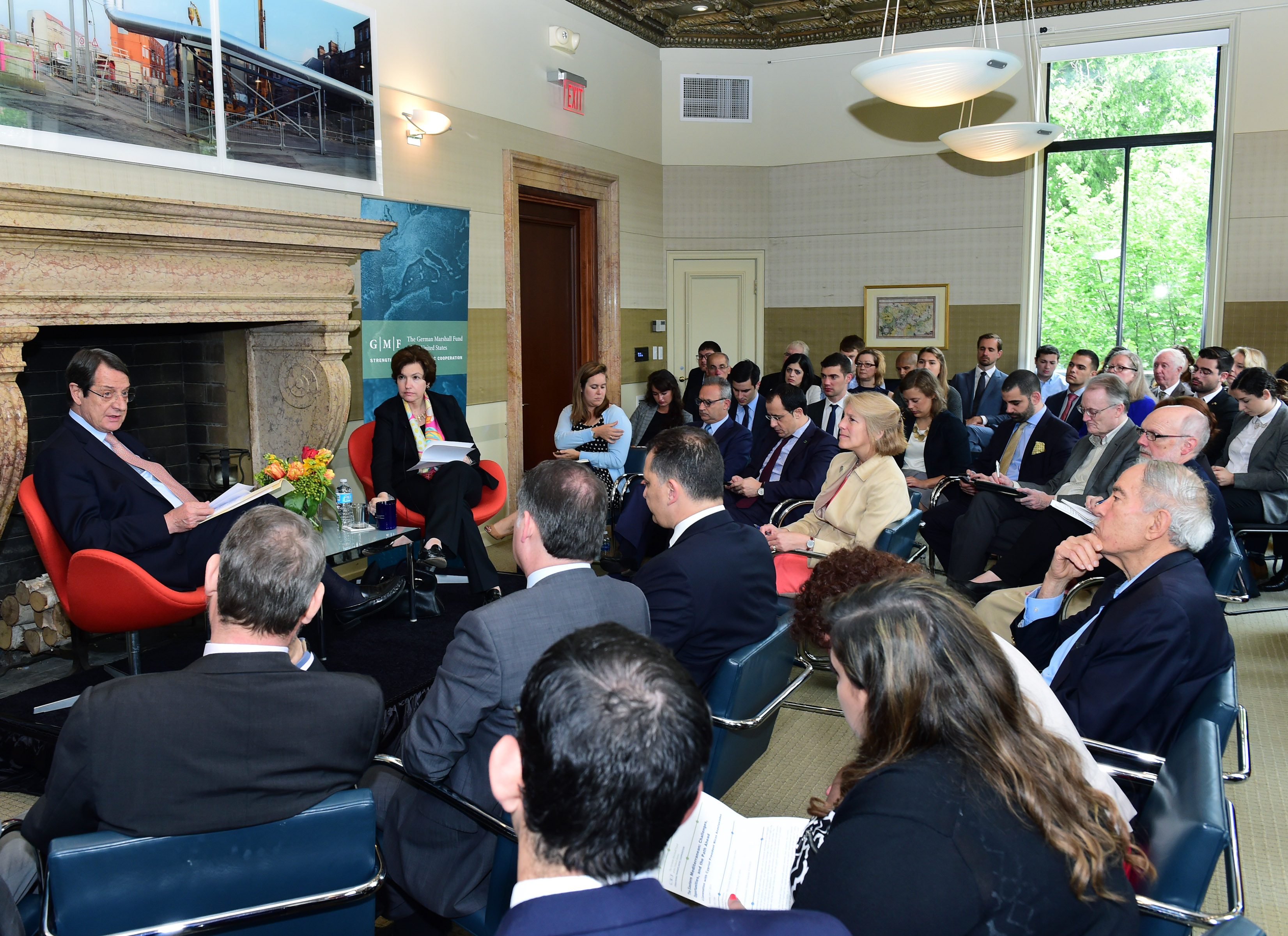 """President Anastasiades' remarksat the German Marshall Fund's event """"Challenges and Prospects in Eastern Mediterranean"""", Washington"""