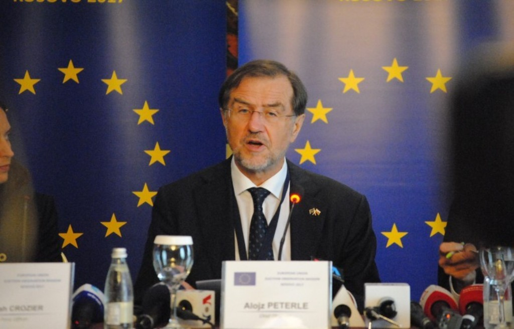 Political parties in Kosovo are encouraged to hold free and democratic elections