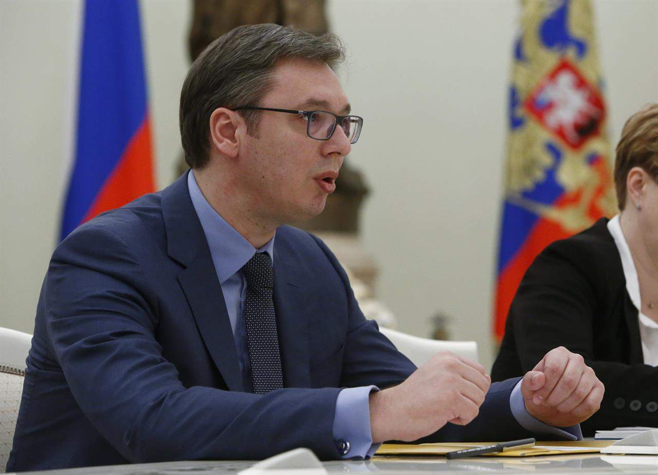 """Vucic wants """"broad internal dialogue on Kosovo, and region"""""""