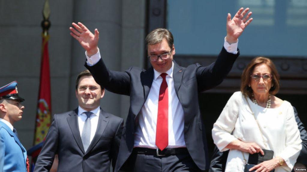 Serb president revives the Serb myth on Kosovo