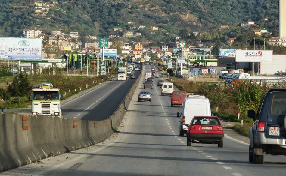 Albania with the poorest quality of infrastructure