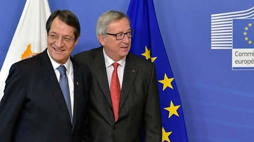 Jean Claude Juncker sends letter of support to President Anastasiades