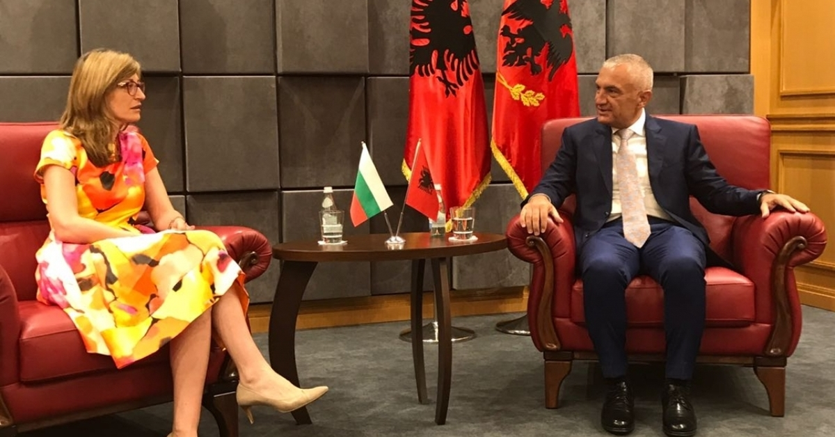Albania wants to 'do its homework in best possible way' on EU accession, president tells Bulgarian FM