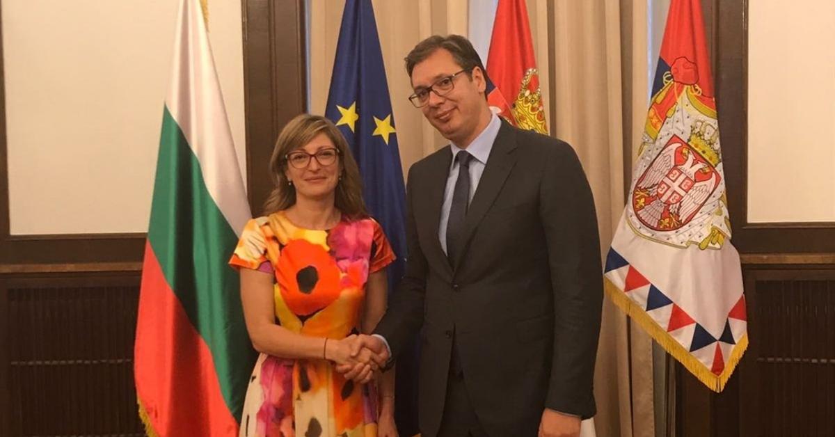 Serbian president Vučić thanks Bulgaria for efforts to continue EU expansion